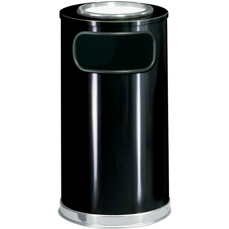 Rubbermaid FGSO16SU20GLBK Trash Can Top Cigarette Receptacle - Decorative Finish