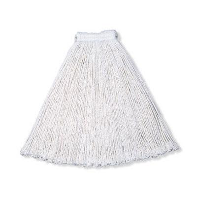 "Rubbermaid FGV11700WH00 Economy Mop Head - #20, 1"" Headband, Cotton Yarn, White"