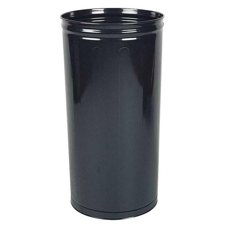 Rubbermaid FGWB2029BK 80 qt Round Waste Basket - Plastic, Black