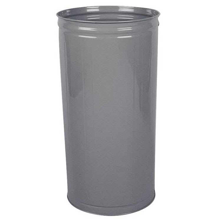 Rubbermaid FGWB2029GR 80 qt Round Waste Basket - Plastic, Gray
