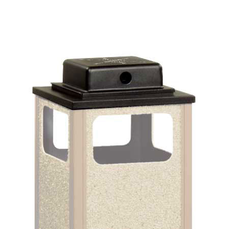 Rubbermaid FGWU1 Trash Can Top Cigarette Receptacle - Outdoor Rated