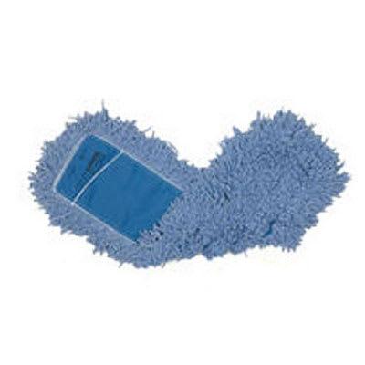 "Rubbermaid FGJ25800BL00 60"" Dust Mop Head Only w/ Twisted Loop Ends, Blue"