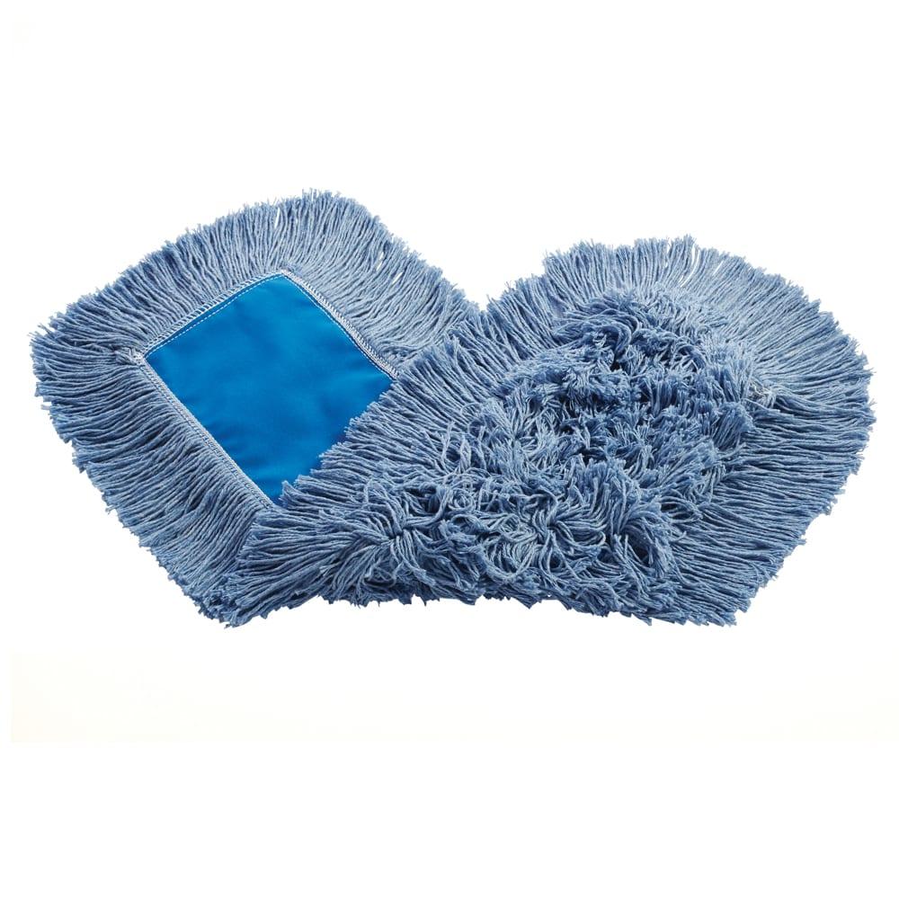 """Rubbermaid FGK15300BL00 24"""" Kut-A-Way® Dust Mop Head Only w/ Cut Ends, Blue"""