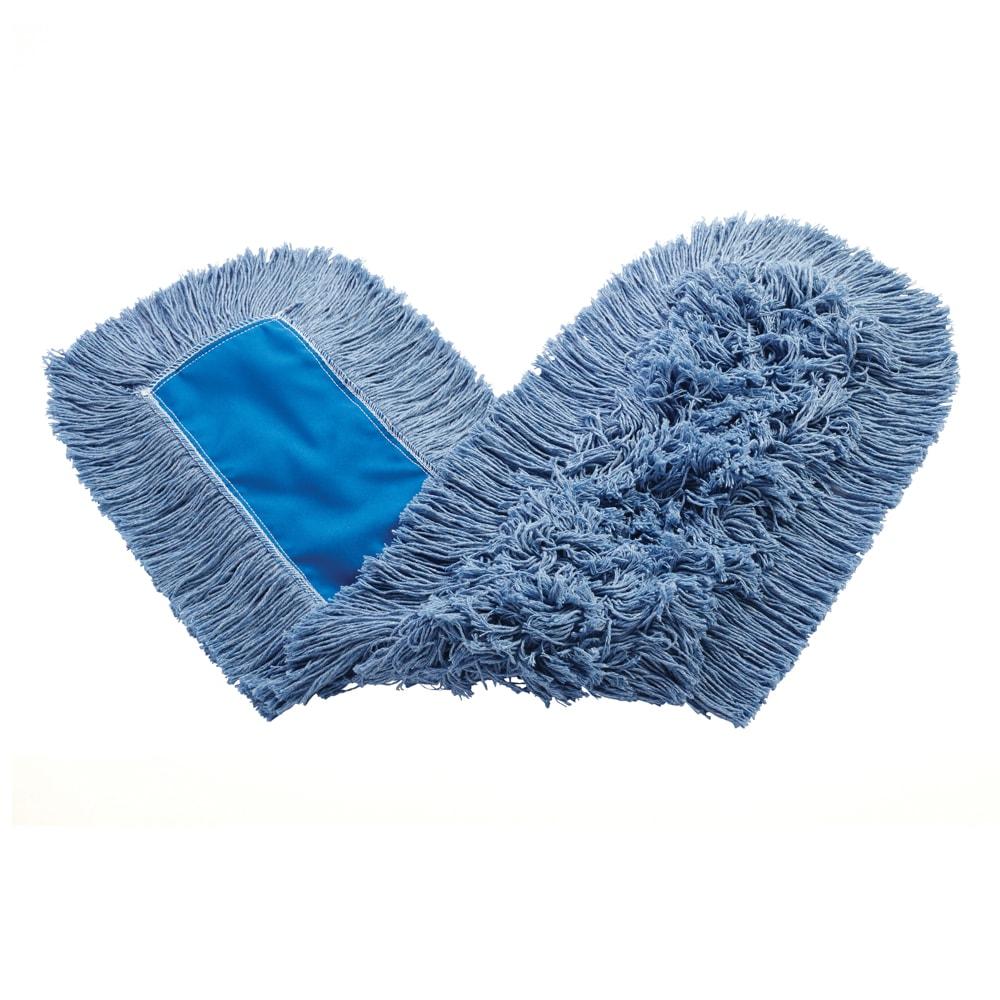 """Rubbermaid FGK15500BL00 36"""" Kut-A-Way® Dust Mop Head Only w/ Cut Ends, Blue"""