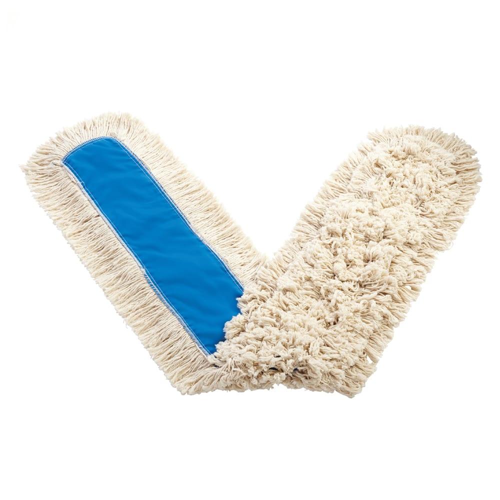 "Rubbermaid FGK15800WH00 60"" Kut-A-Way® Dust Mop Head Only w/ Cut Ends, White"