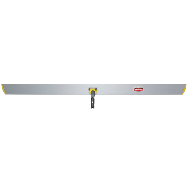 "Rubbermaid FGQ59500YL00 60"" Hygen Hall Dusting Frame - Flat, Hook-and-Loop Strips, Aluminum, Yellow"