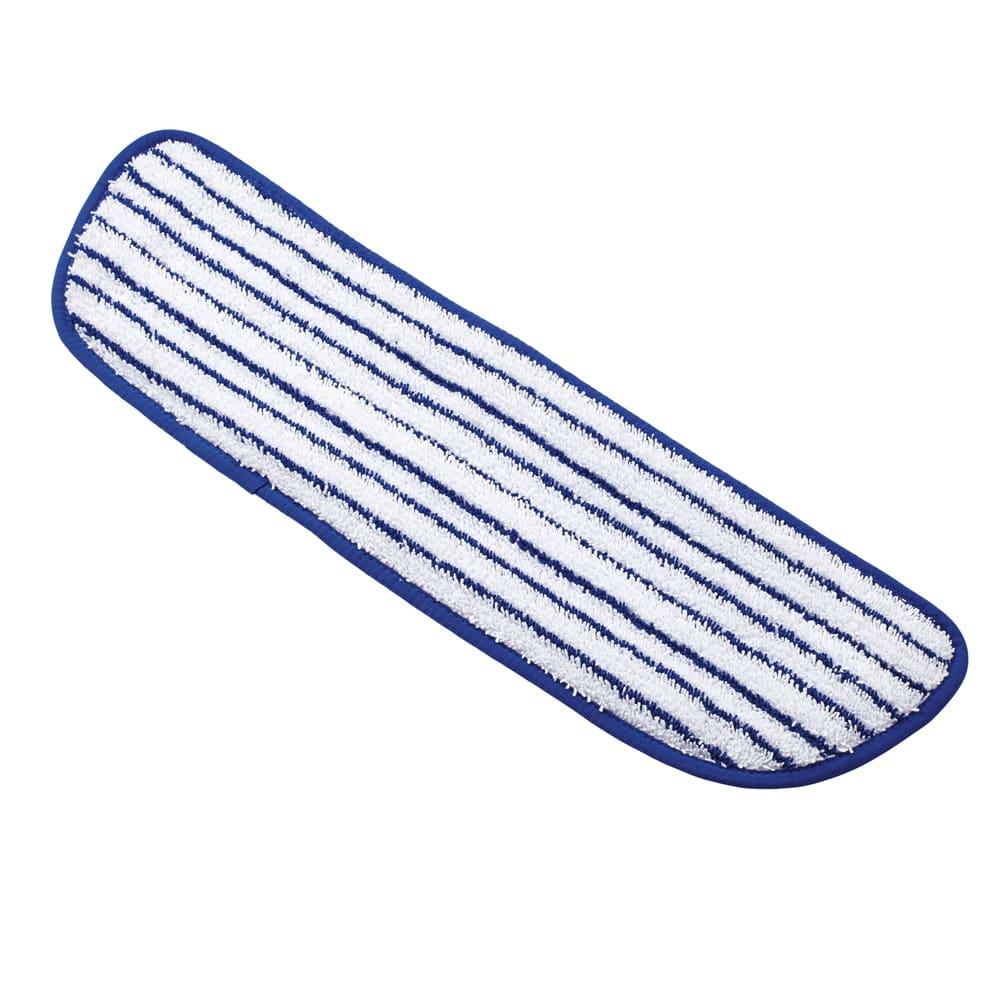 "Rubbermaid FGQ80000WH00 18"" Finish Pad - Microfiber, White"