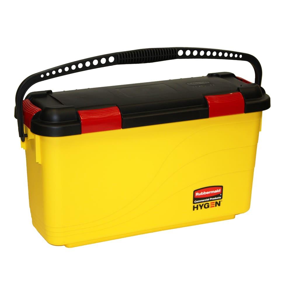 Rubbermaid FGQ95088YEL Microfiber Disinfecting Bucket - Yellow