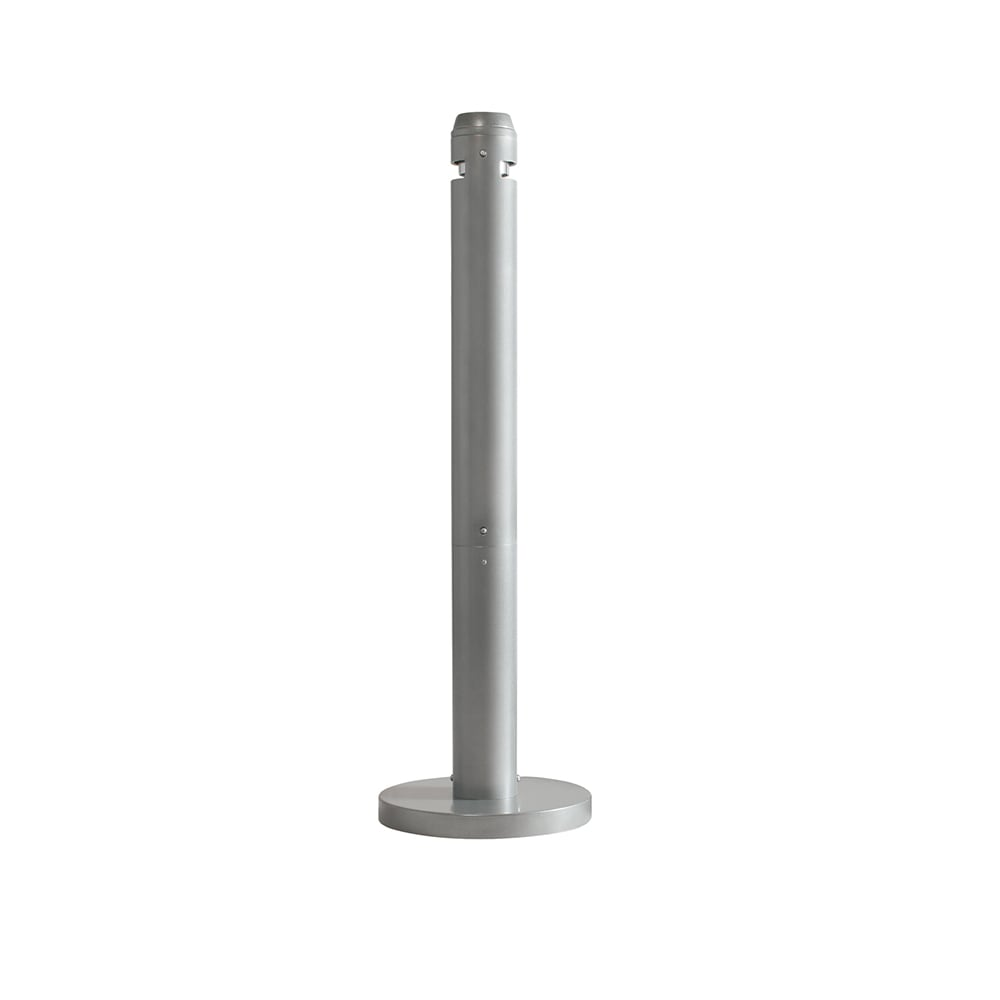 Rubbermaid FGR1SM Pole Cigarette Receptacle - Snuff Plates