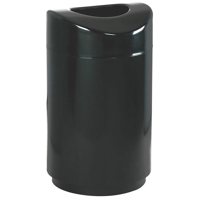 30 Gallon Kitchen Trash Can: Rubbermaid FGR2030EPLBK 30 Gal Indoor Decorative Trash Can