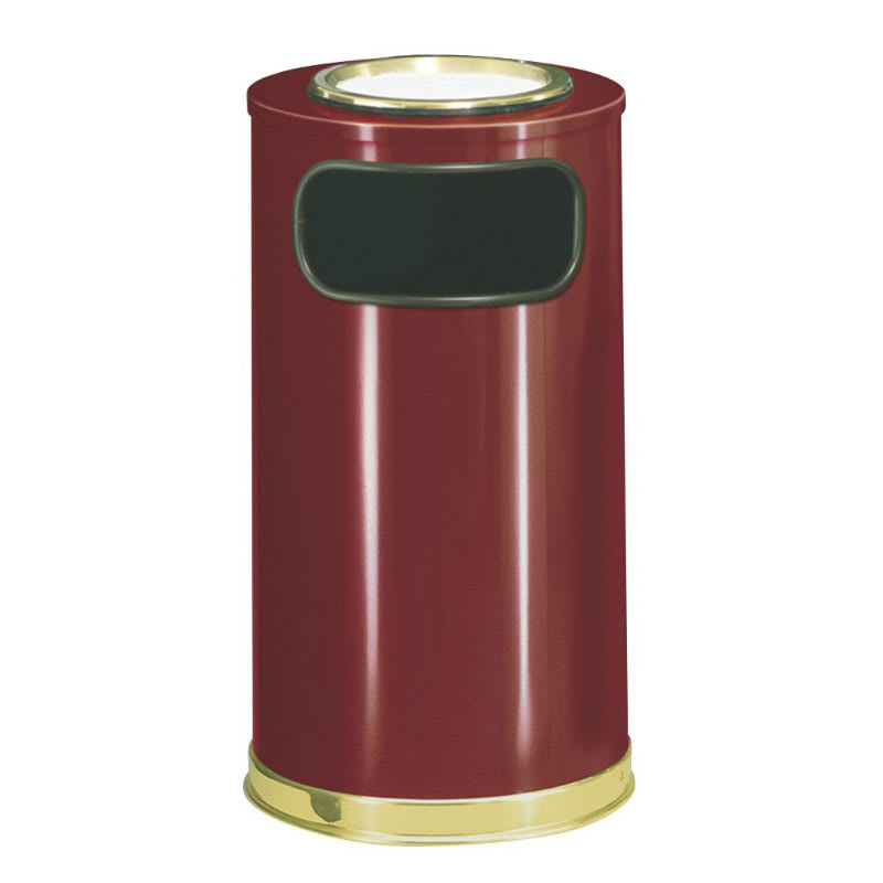 Rubbermaid FGSO16SU10GLCR Trash Can Top Cigarette Receptacle - Decorative Finish