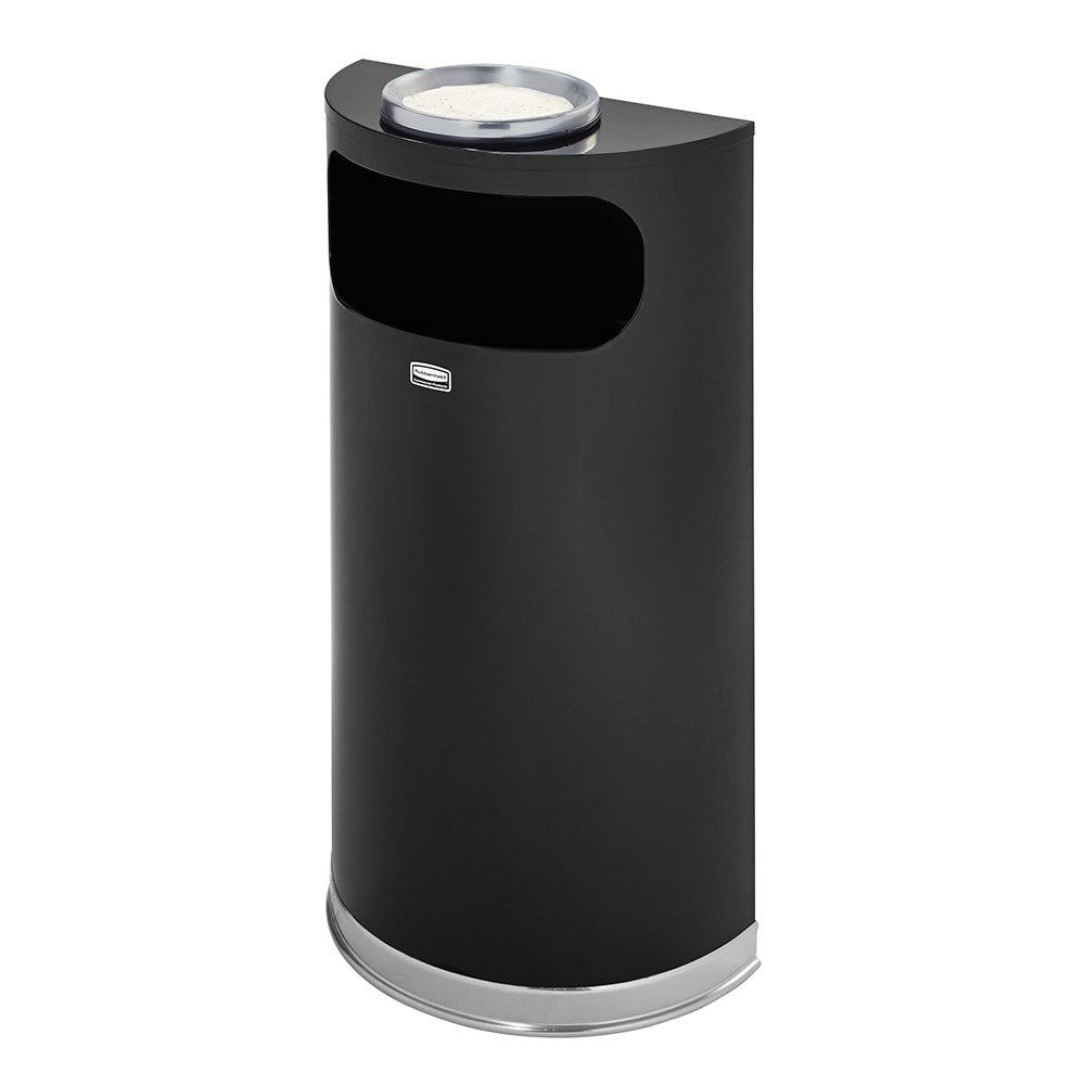 Rubbermaid FGSO8SU20PLBK Trash Can Top Cigarette Receptacle - Decorative Finish