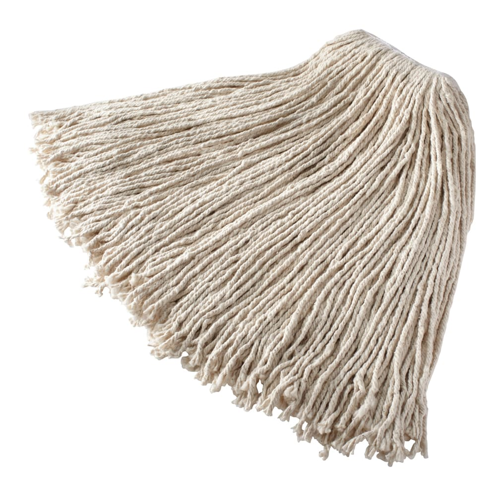 "Rubbermaid FGV11900WH00 Economy Mop Head - #32, 1"" Headband, Cotton Yarn, White"