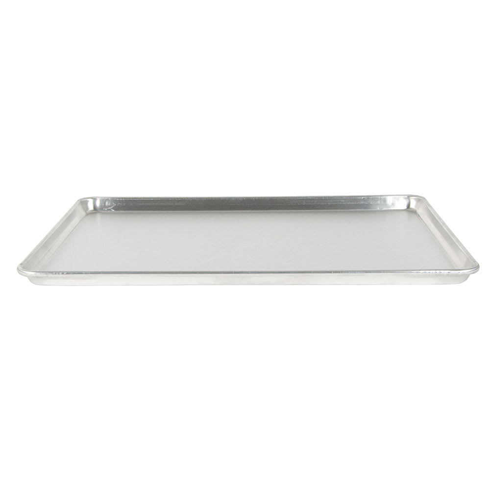 "Advance Tabco 18-8A-26 1/1 Full Size Bun / Sheet Pan - 18"" x 26"" x 1"", 18 gauge Aluminum"