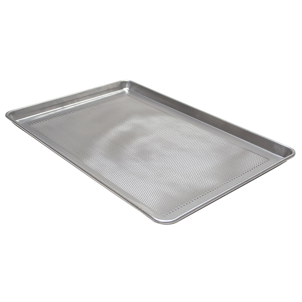 Advance Tabco 18-8P-26 Full-Size Perforated Bun Pan, 18 ga Aluminum