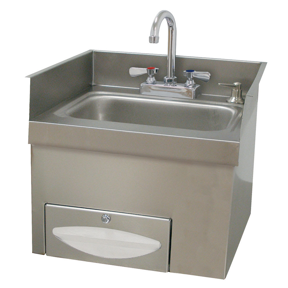 Advance Tabco 7-PS-42 Wall Mount Commercial Hand Sink w/ 14\