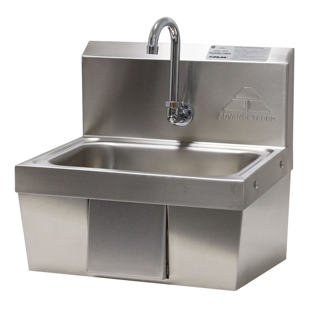 Advance Tabco 7-PS-44 Wall Mount Commercial Hand Sink w/ 14\