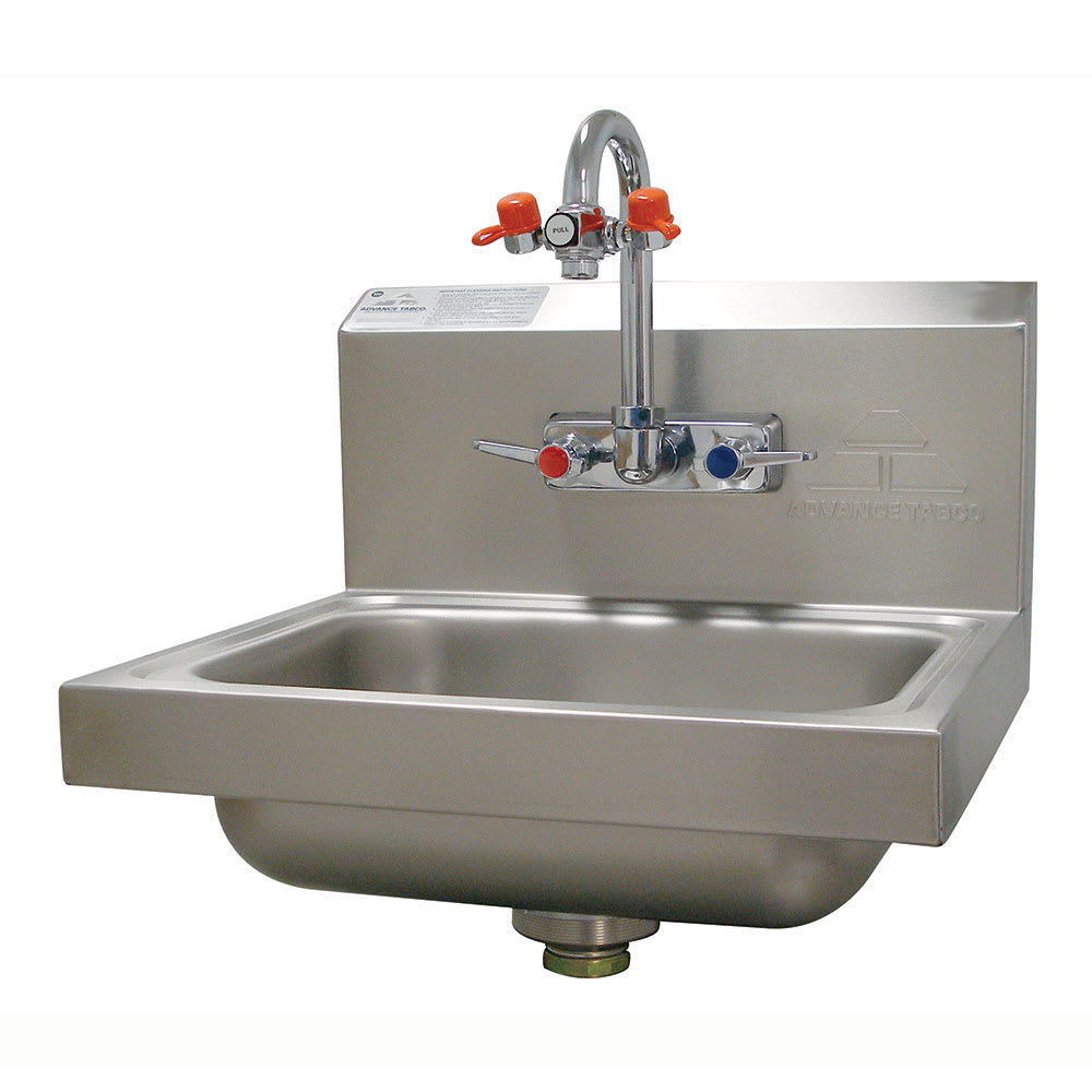 Advance Tabco 7-PS-55 Wall Mount Commercial Hand Sink w/ 14\
