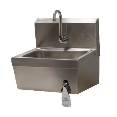 Advance Tabco 7 Ps 62 1x Wall Mount Hand Sink W 14 Quot L X 10