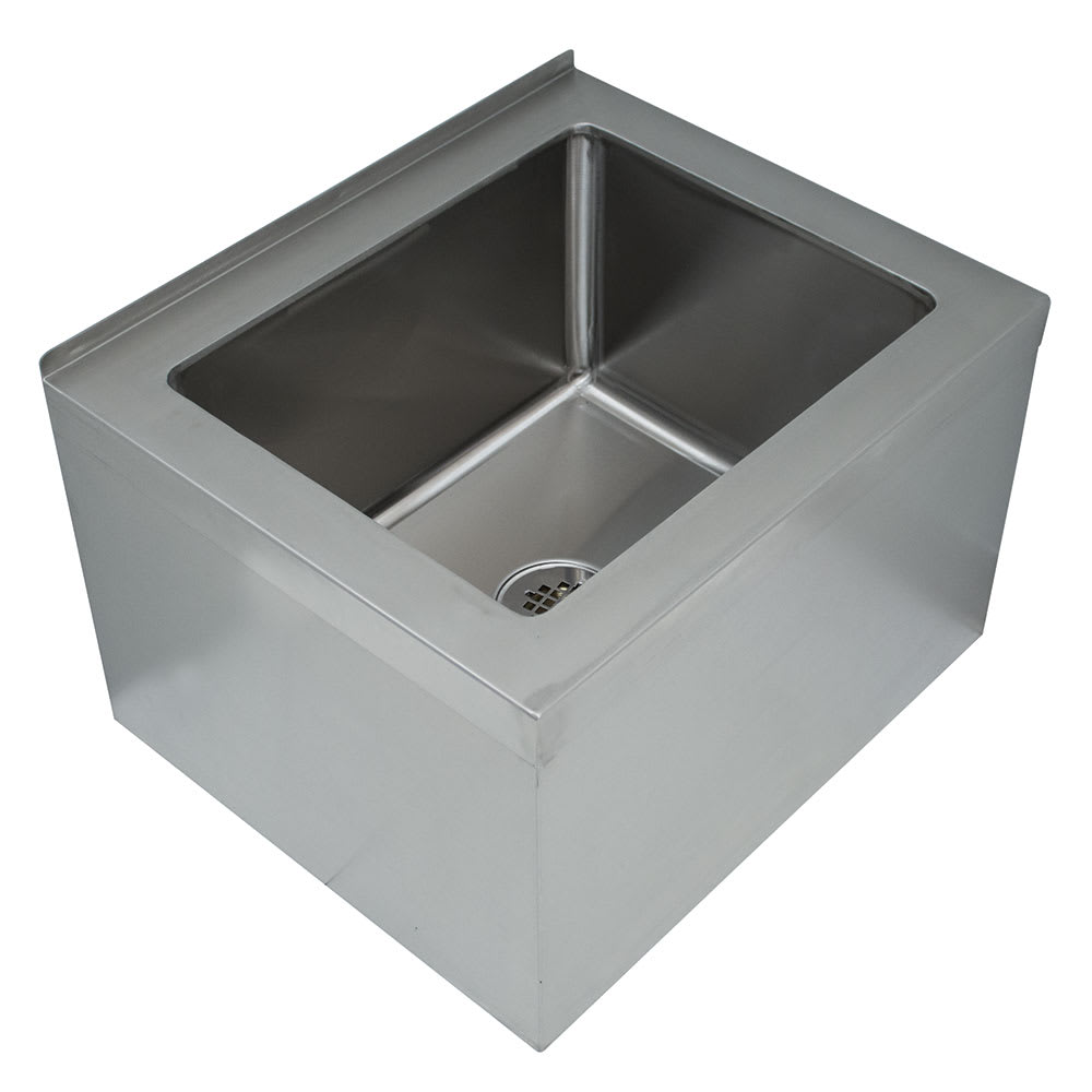 "Advance Tabco 9-OP-48 Floor Mount Mop Sink w/ 12""D Bowl, Tile Edge"