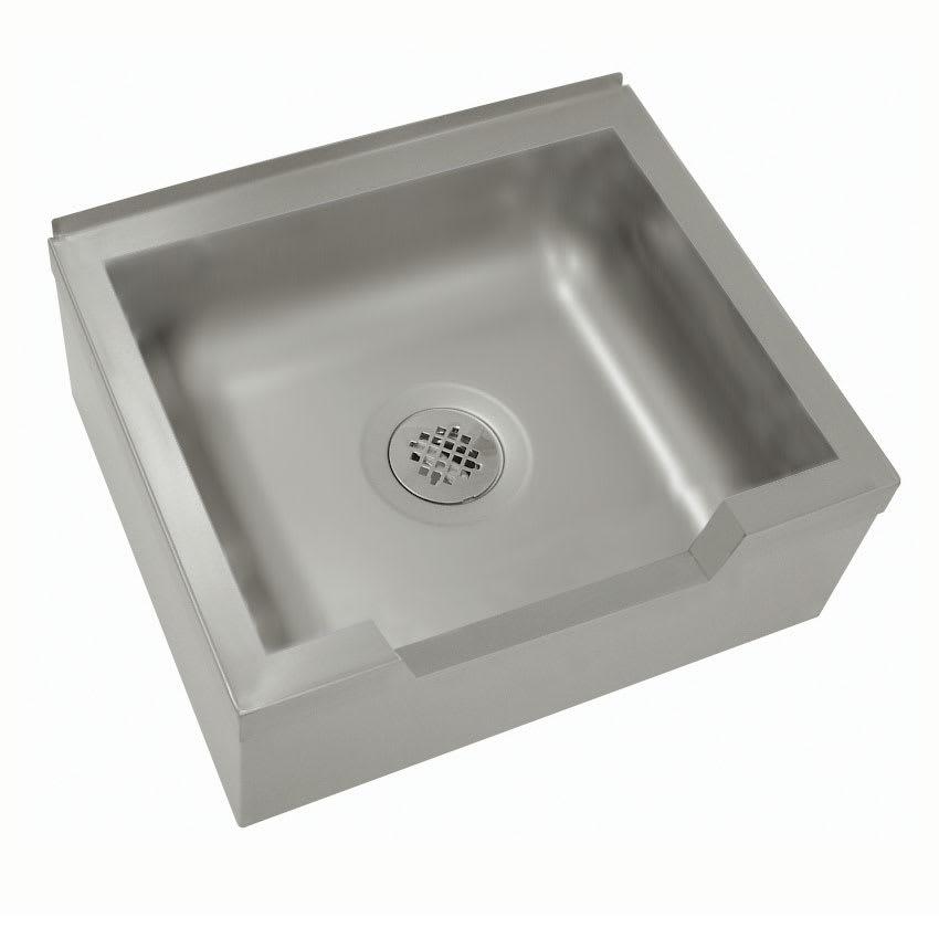"""Advance Tabco 9-OP-48DF Floor Mount Mop Sink w/ 12""""D Bowl, Drop Front"""