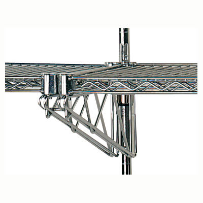 "Advance Tabco AABM-14 (2)14"" Double Adjustable Mid Brackets"