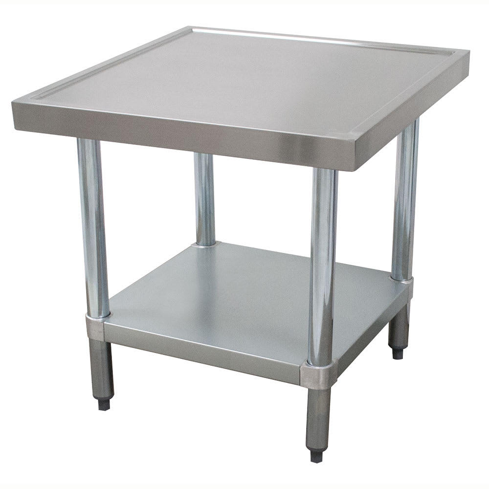 "Advance Tabco AG-MT-363 36"" Mixer Table w/ Galvanized Undershelf Base & Marine Edge, 36""D"