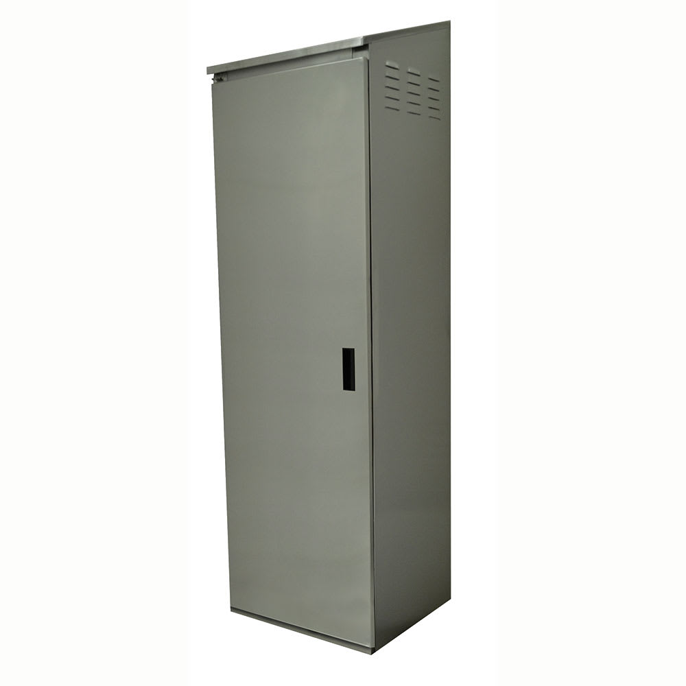 Advance Tabco CAB-1 Cabinet - Floor, Fixed Intermediate Shelf, Left Hinged Door, 18 ga 430 Stainless