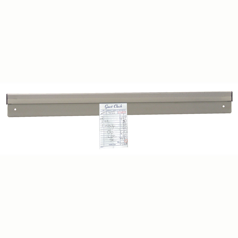 "Advance Tabco CM-36 36"" Check Minder - Floating Ball Mechanism, Aluminum"