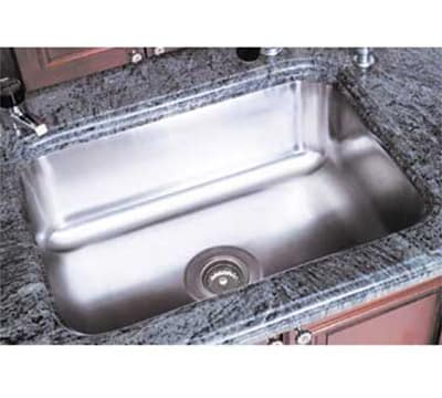 """Advance Tabco CO1014A5RE Weld"""" Sink Bowl for Under Mount, 10x14x5"""", 18-ga 304-Stainless"""