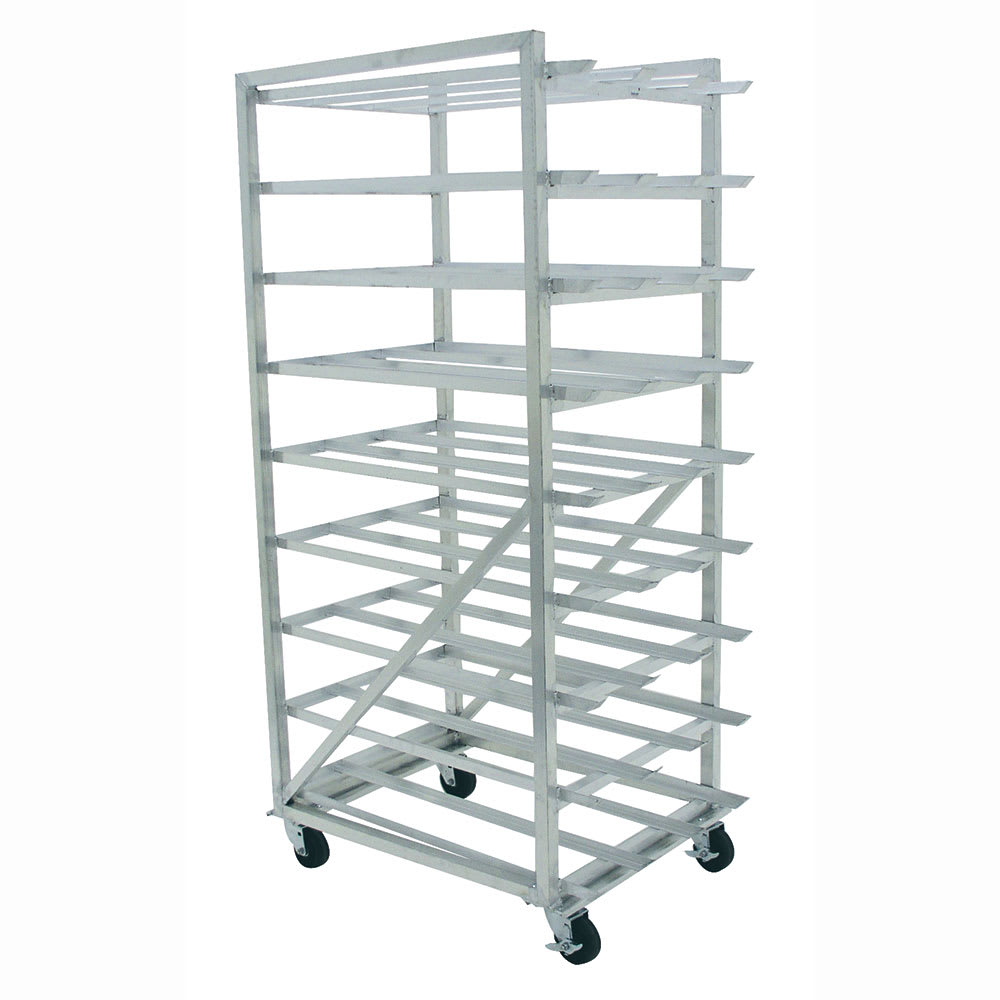 "Advance Tabco CR10-162M 71""H Mobile Can Rack w/ (162) #10 or (216) #5 Capacity"