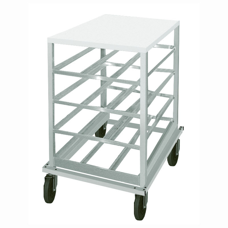 """Advance Tabco CRPL10-54 32.63""""H Mobile Can Rack w/ (54) #10 or (72) #5 Capacity"""