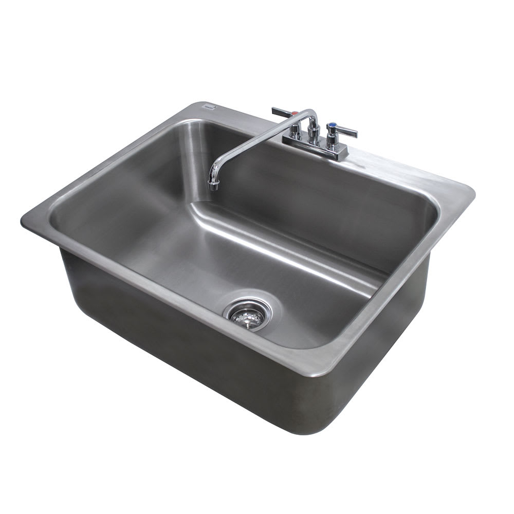 Advance Tabco Di 1 2812 Compartment Drop In Sink 28 X 20 Drain Included