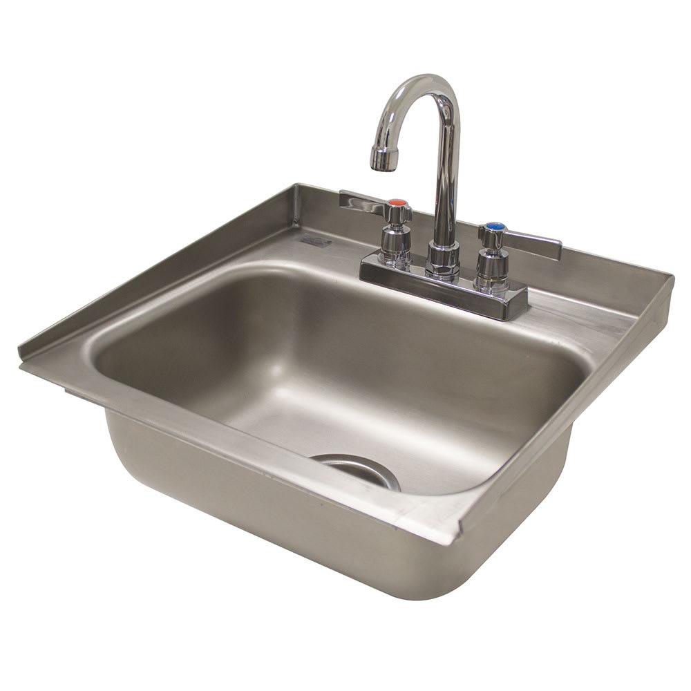 "Advance Tabco DI-1-30 (1) Compartment Drop-in Sink - 14"" x 10"", Drain Included"