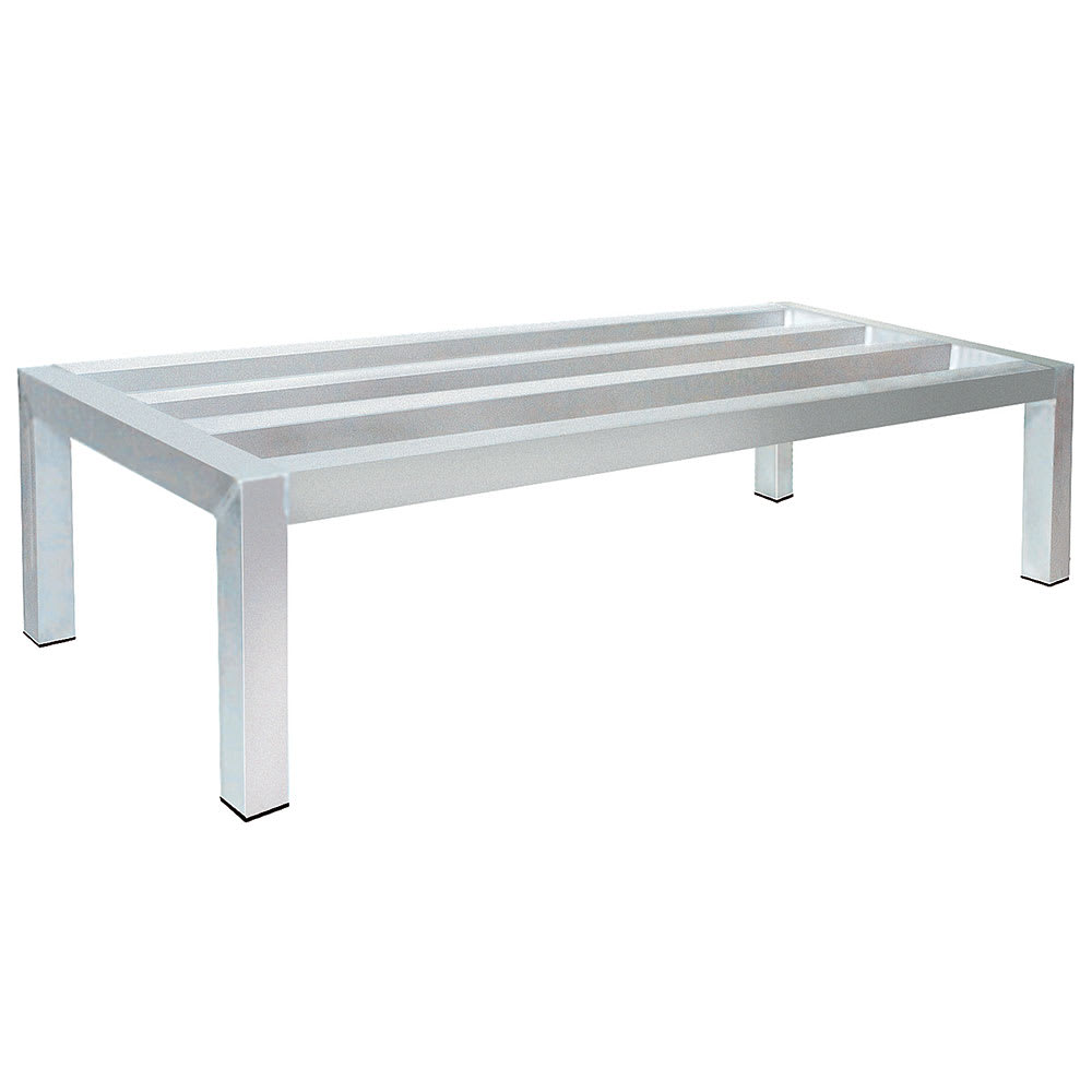 "Advance Tabco DUN-2448 48"" Stationary Dunnage Rack w/ 1800 lb Capacity, Aluminum"