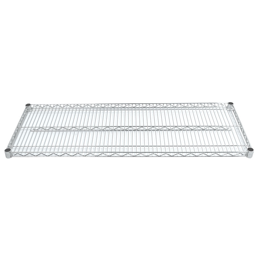 "Advance Tabco EC-2472-X Chrome Wire Shelf - 72""W x 24""D"
