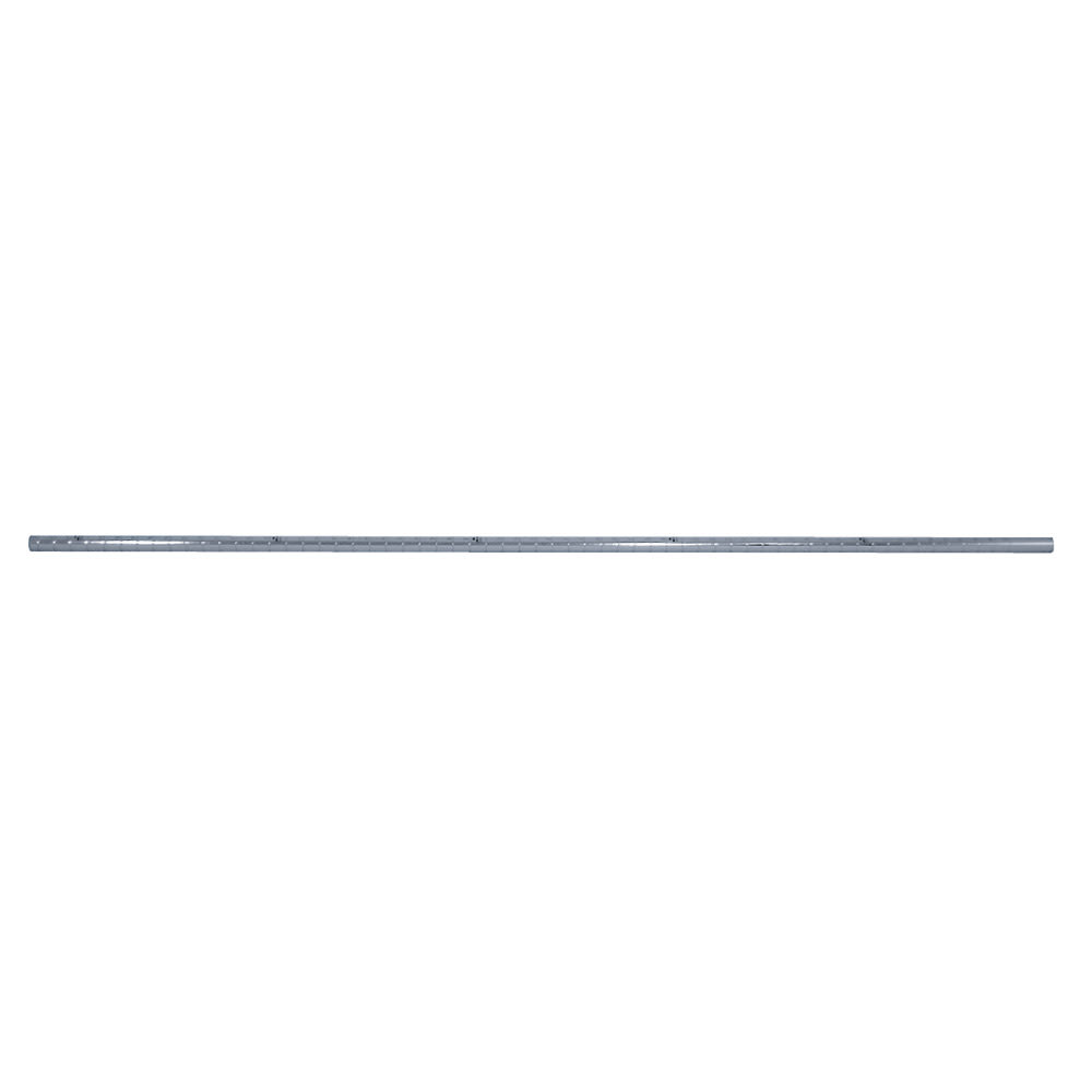 """Advance Tabco ECPC-64 64"""" Post for Use - Casters, Numbered, Chrome"""