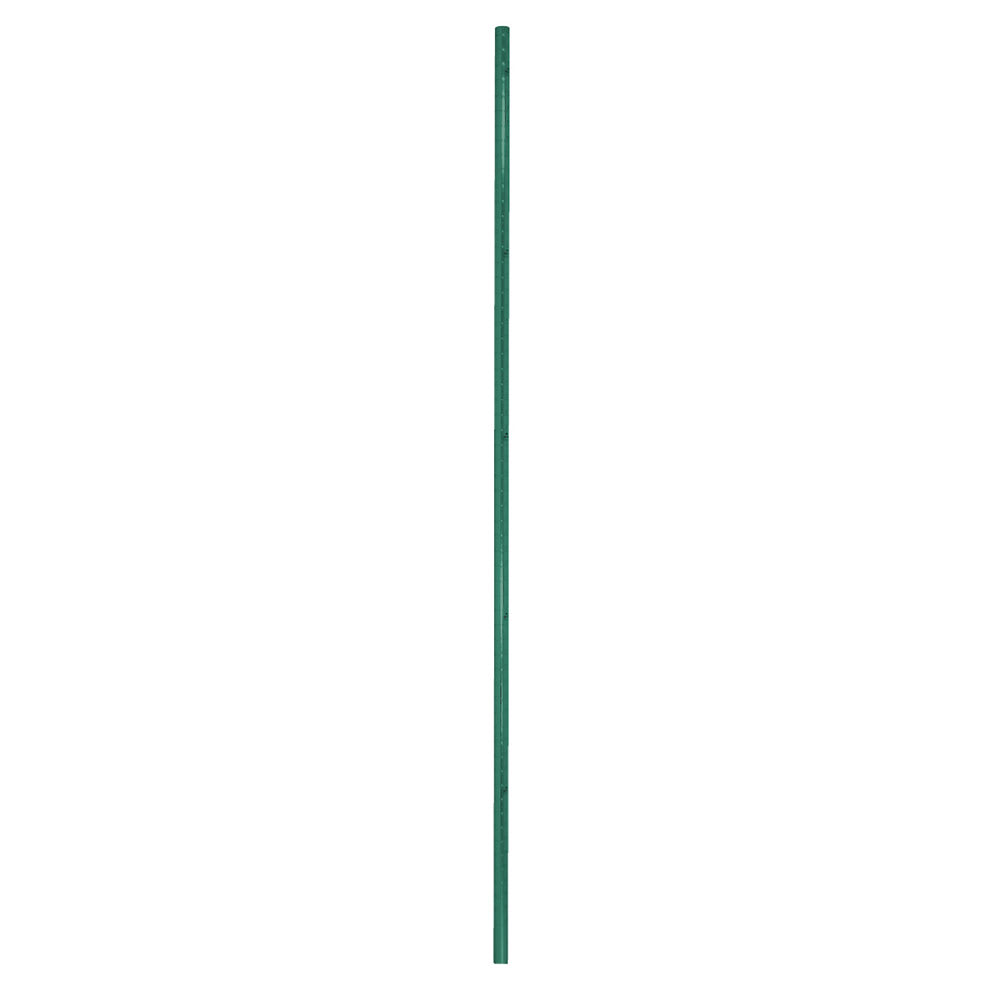 "Advance Tabco EGPC-86 86"" Post for Use - Casters, Numbered, Green Epoxy"