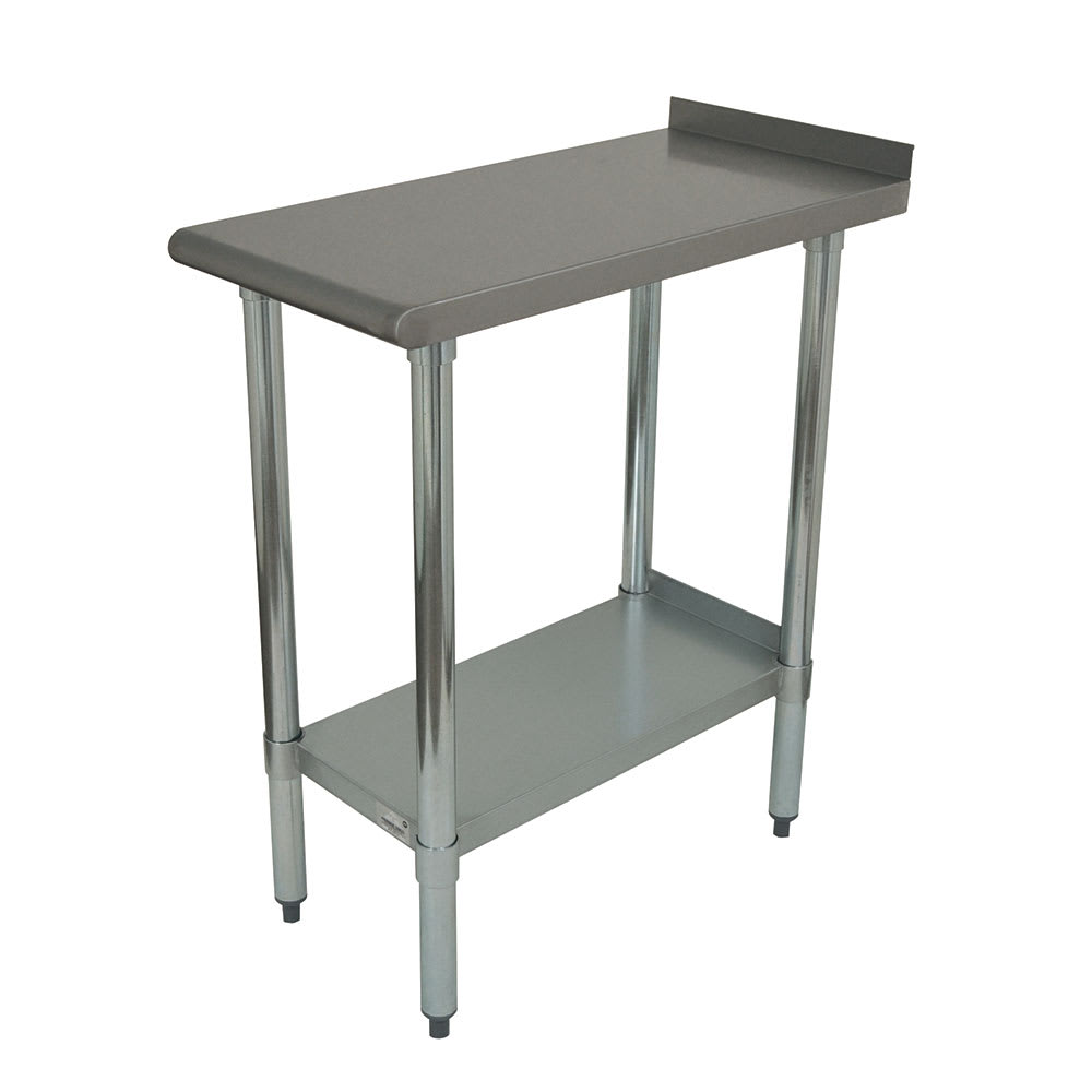 "Advance Tabco FT-3012 Equipment Filler Table w/ Undershelf - 12"" x 30"", Stainless"