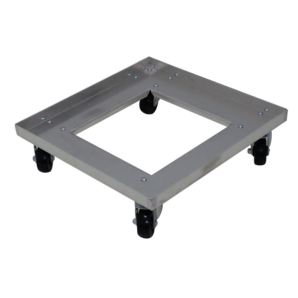 Advance Tabco GRD-1 Single Stack Glass Rack Dolly w/ 600 lb Capacity, Aluminum