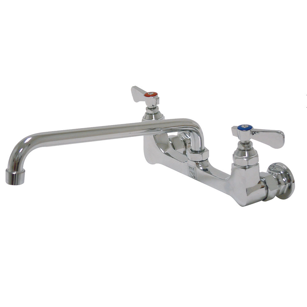 """Advance Tabco K-105 Faucet -14"""" Spout, Splash-Mount"""