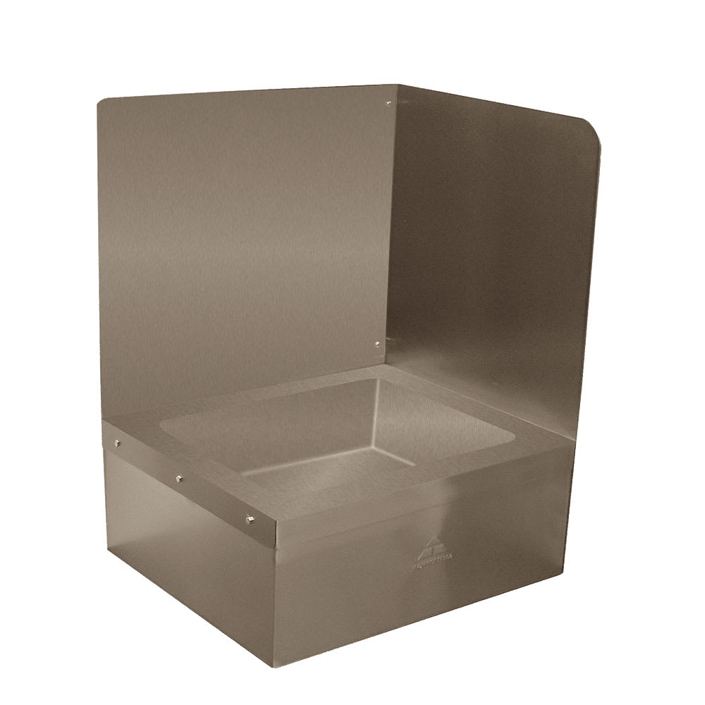 "Advance Tabco K-290R Right Side for 9OP28/48 Mop Sink, Backsplash, Extends 16"" Above The Sink"