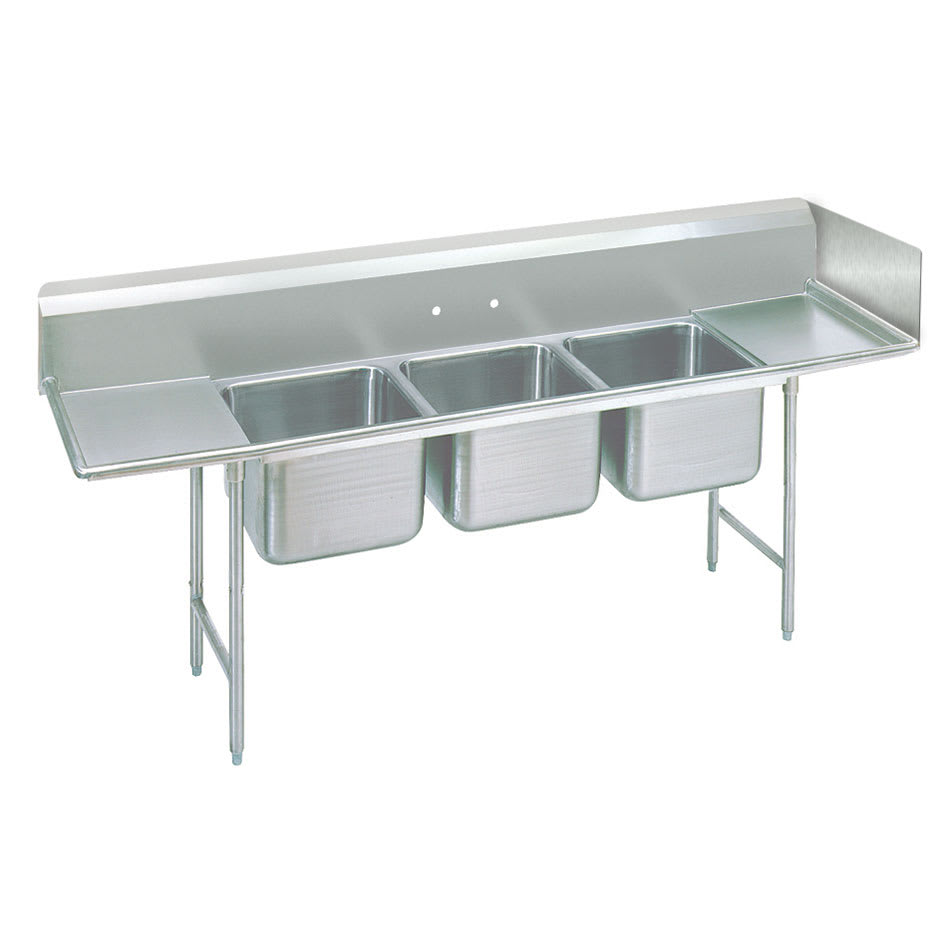 Advance Tabco K454 Drainboard/Sink Sidesplash