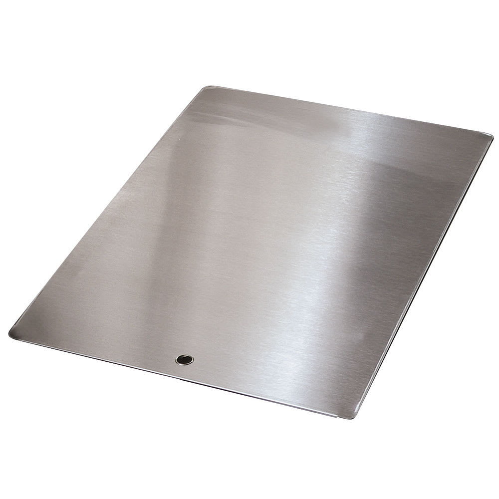 "Advance Tabco K-455A Sink Cover, 10x14"", Stainless Steel"