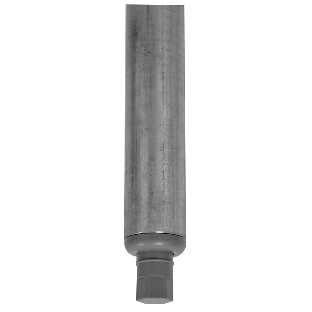 Advance Tabco K-497A Replacement Galvanized Leg - Plastic Bullet Foot for 400 , 600 Series Sinks