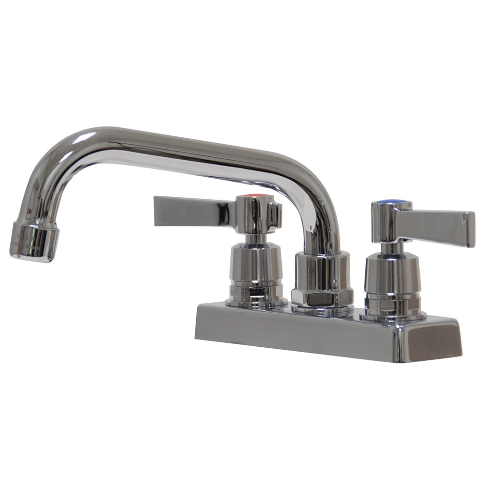 "Advance Tabco K-51 6"" Swing Spout Faucet, 4"" Deck Mount"