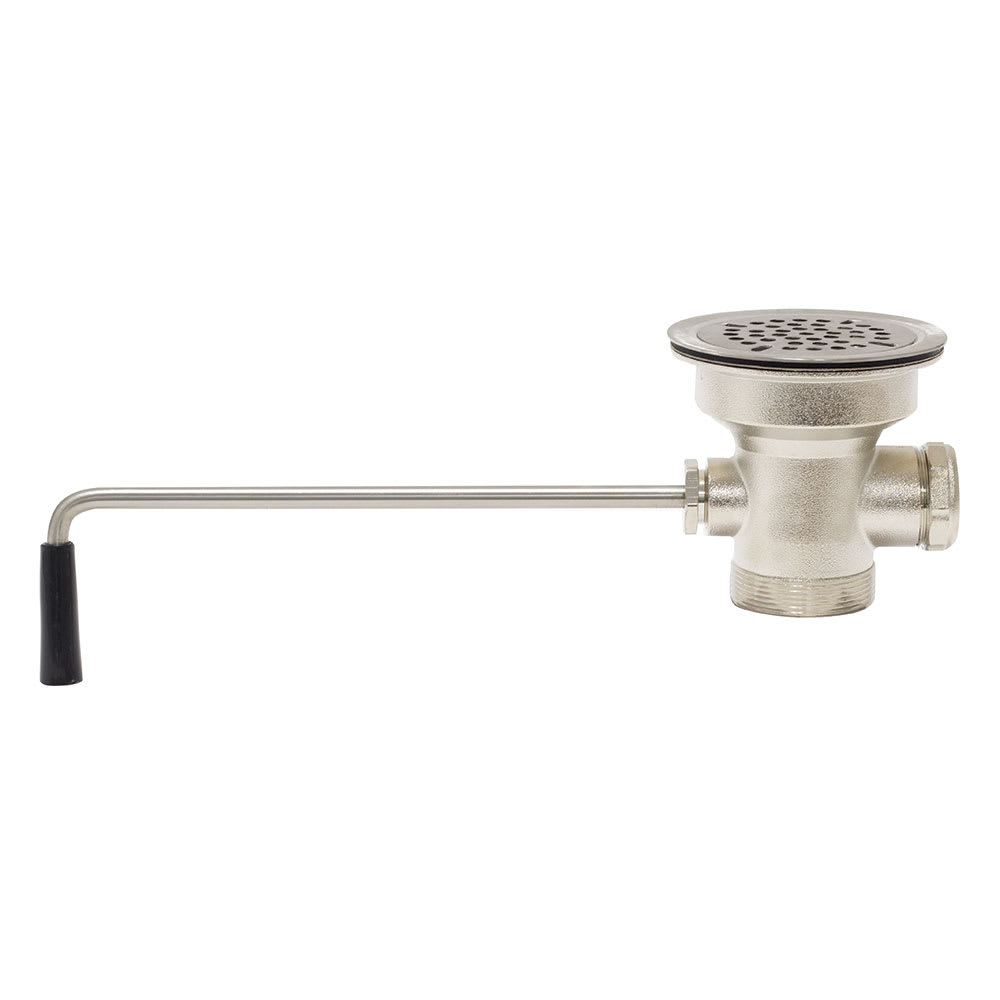 "Advance Tabco K-5 Drain - Twist Operated, 2"" IPS"
