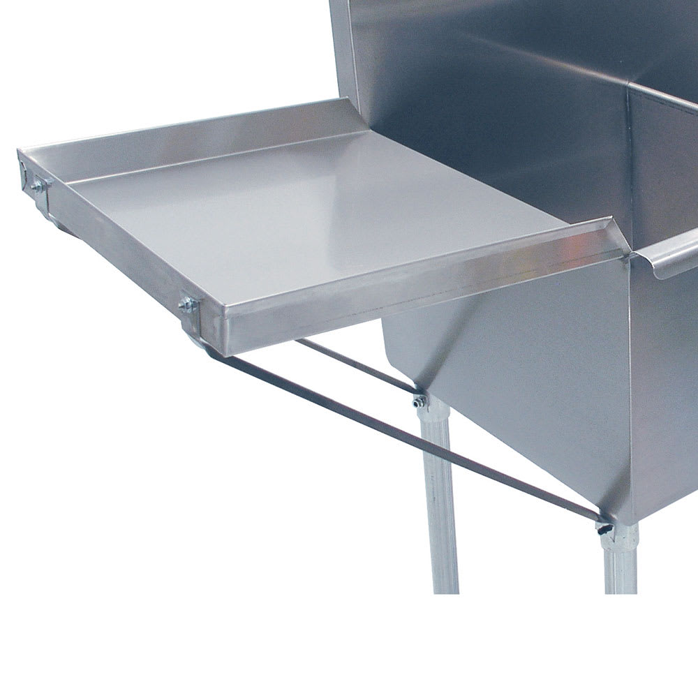"Advance Tabco N-54-48 Drainboard, 30x48"", Square Korner Sinks ONLY"