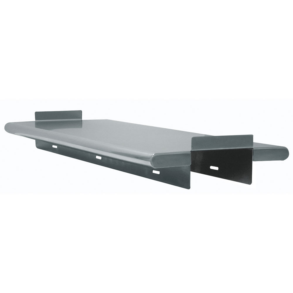 "Advance Tabco PA-24-120 120"" Solid Wall Mounted Shelving"