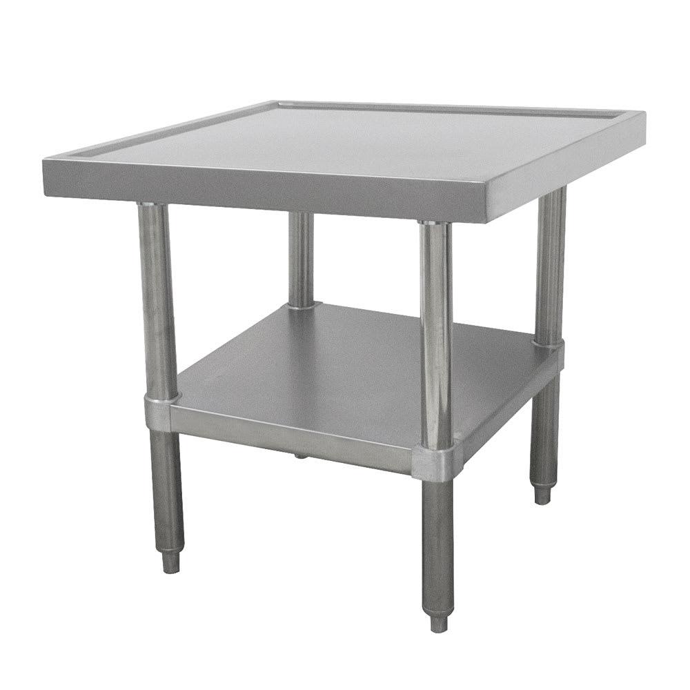 "Advance Tabco SAG-MT-303 36"" Mixer Table w/ All Stainless Undershelf Base & Marine Edge, 30""D"